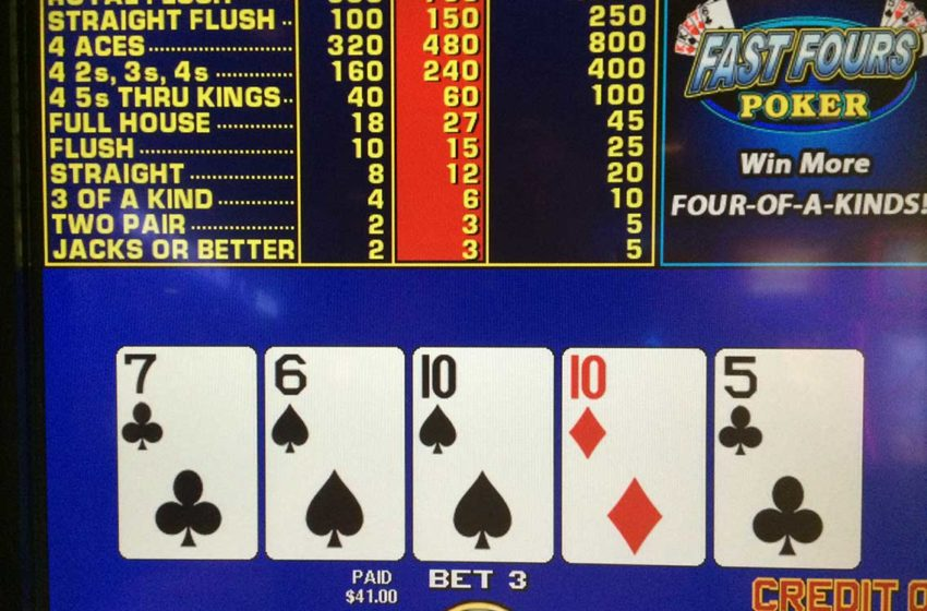 Jacks or Better Video Poker Strategy