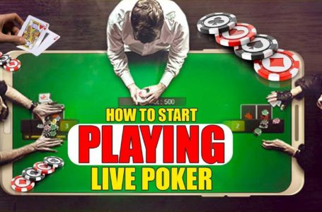 Let's prepare for the first live poker tournament together